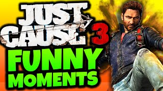 "getlinkyoutube.com-Just Cause 3: Funny Moments - ""HARDEST BASE TAKEOVER!"" - (JC3 Funny Moments)"