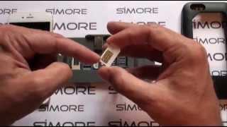 getlinkyoutube.com-iPhone 6 - Dual SIM Case Adapter for iPhone 6 Dual SIM