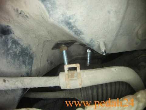 Педали для учебной машины Хюндай АКЦЕНТ  Hyundai Accent  www.pedali24.ru