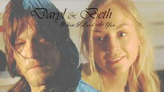 getlinkyoutube.com-Daryl and Beth - When I Look At You