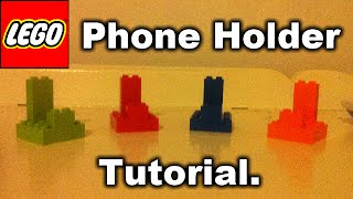 Tutorial: Small Lego Phone Holder.