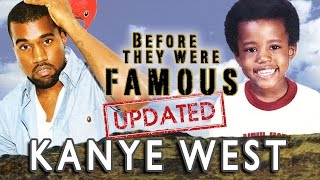 getlinkyoutube.com-KANYE WEST - Before They Were Famous - UPDATED