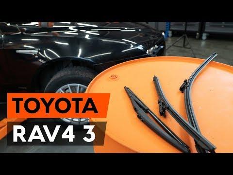 Как заменить щётки стеклоочистителя на TOYOTA RAV 4 3 (XA30) (ВИДЕОУРОК AUTODOC)