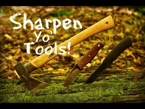 Field Sharpening Outdoor Tools