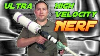getlinkyoutube.com-PVC Deadly Nerf Air Gun - Part 2 - DIY Tutorial Build & Demo