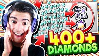 getlinkyoutube.com-SPENDING 400+ DIAMONDS!! (Minecraft Money Wars)