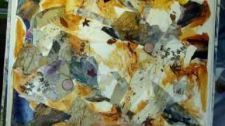getlinkyoutube.com-Abstract Collage Demonstration painting Part 1