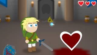 getlinkyoutube.com-Legend of Zelda Video - How Link Absorbs Heart Containers (Parody)