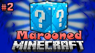 getlinkyoutube.com-Eiskalte LUCKY BLOCKS!! - Minecraft Marooned #02 [Deutsch/HD]