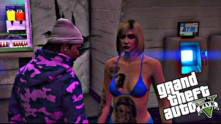 "getlinkyoutube.com-GTA 5 ONLINE ""BABY MAMA DRAMA IN DA HOOD"" EP.3 YOU AH THOT [HD]"