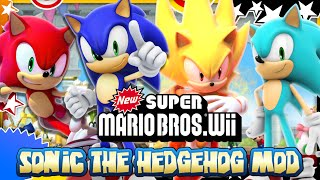 getlinkyoutube.com-Sonic in New Super Mario Bros Wii - Mod Mondays