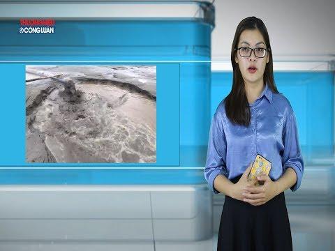 San lấp mặt bằng đại dự án Nam Long (Long An) bằng cát biển?