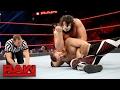 Sami Zayn vs. Rusev: Raw, Feb. 13, 2017