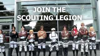 getlinkyoutube.com-Shingeki no Kyojin cosplay CRACK