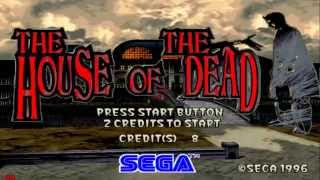 the house of the dead 1 perfect arcade run 1080p  sega model 2 PC 2015