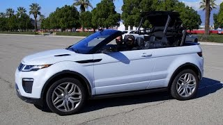 Is the Land Rover Range Rover Evoque Convertible A Real SUV? (w/ Jonny Lieberman) – Daily Fix
