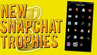 getlinkyoutube.com-How to Unlock 7 New Snapchat Trophies! - Snapchat Achievement List (December 2015)