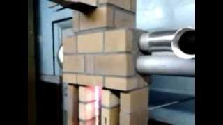 getlinkyoutube.com-Новая печка на отработке,ни грамма сварки.Use of waste oil in the oven.