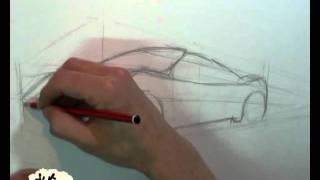 getlinkyoutube.com-como dibujar un auto