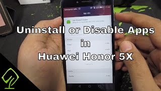 getlinkyoutube.com-How to Uninstall or Disable Apps in Huawei Honor 5X