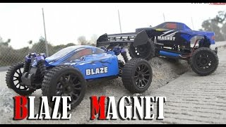 Exceed RC 1/16 Scale Magnet Truck & Blaze Buggy Overview
