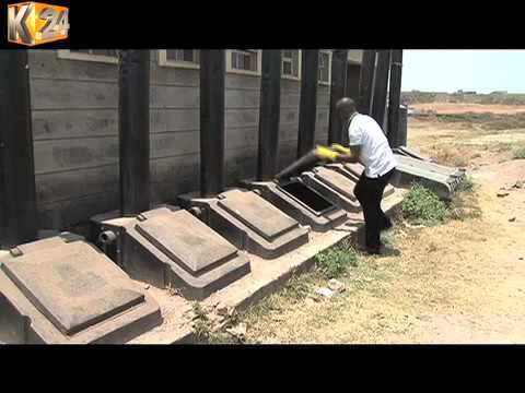New Innovative latrine requires no water to function