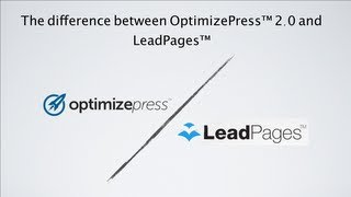 getlinkyoutube.com-The difference between OptimizePress 2.0 and LeadPages