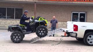 getlinkyoutube.com-First timer ATV truck loading