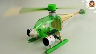 getlinkyoutube.com-Como fazer um Helicóptero Eléctrico com Garrafa PET