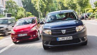 getlinkyoutube.com-Dacia Sandero vs. Mitsubishi Space Star