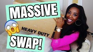HUGE SWAP! COLLAB W/ KEESHA ANDERSON | Andrea Renee