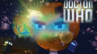 Doctor Who Intro In Minecraft - Fused With Neon Visual