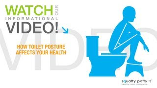 getlinkyoutube.com-Squatty Potty® toilet stool: How toilet posture affects your health