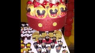 getlinkyoutube.com-Bandeja do Mickey passo a passo.