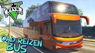 getlinkyoutube.com-SCANIA OAD REIZEN BUS!! - GTA 5 Mods VEHICULOS - Tramcaman