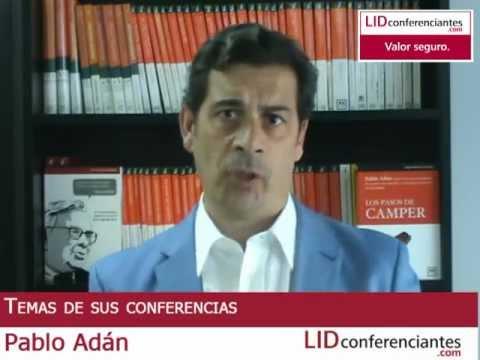 Pablo Adán, conferenciante y experto en marketing personal