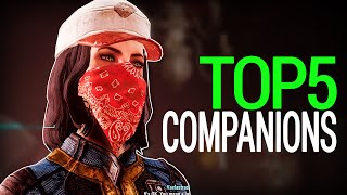getlinkyoutube.com-Fallout 4: Top 5 Amazing Companions