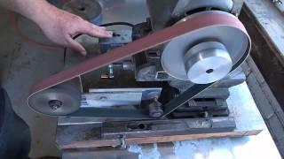 getlinkyoutube.com-Small Belt Grinder Overview