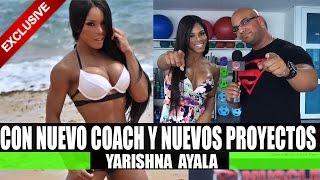 getlinkyoutube.com-Yarishna Ayala Entrevista Exclusiva, Nuevo Coach!? - RxMuscle En Español