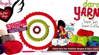 getlinkyoutube.com-Fashion Angels 6 in 1 Projects Darn Yarn Review