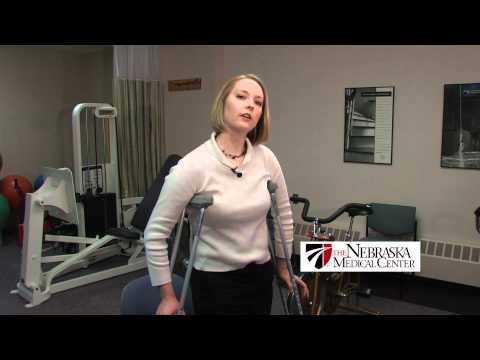 How To Use Crutches Properly - The Nebraska Medical Center