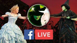 getlinkyoutube.com-Emily Koch & Amanda Jane Cooper - Chron.com Facebook LIVE | WICKED The Musical