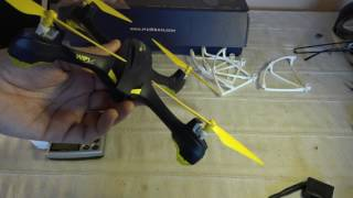 Hubsan H507A unboxing analysis and demo flight (Courtesy Banggood)