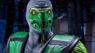 getlinkyoutube.com-Mortal Kombat X - Reptile All Interaction Dialogues