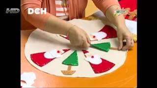 getlinkyoutube.com-Centro de mesa navideño
