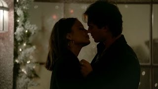 getlinkyoutube.com-The Vampire Diaries: 8x07 - Damon remembers Elena (necklace), almost kiss Sybil and kills her [HD]