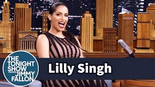 getlinkyoutube.com-Lilly Singh Used Her YouTube Cred to Flirt with The Rock