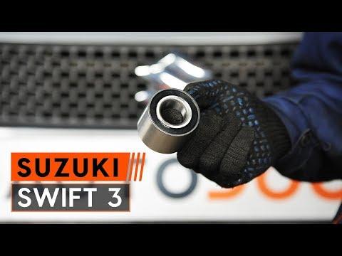 Как да сменим задна лагер на главина наSUZUKI SWIFT 3 Хечбек (ИНСТРУКЦИЯ AUTODOC)