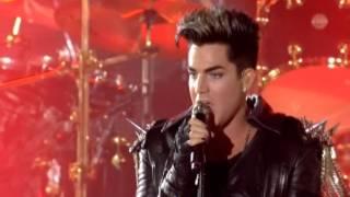 """getlinkyoutube.com-3. Queen & Adam Lambert """"Fat Bottomed Girls""""(Live in Kiev)"""