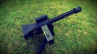getlinkyoutube.com-Polarstar Minigun (M134D Airsoft Minigun)